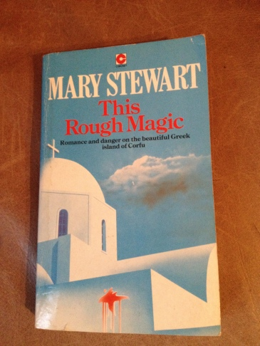 Cover of This Rough Magic, Coronet edition, as described above